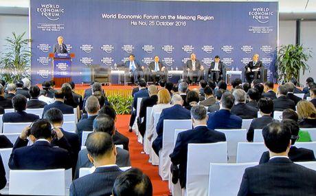 Thu tuong de cap 4 van de lon tai Hoi nghi WEF- Mekong - Anh 2