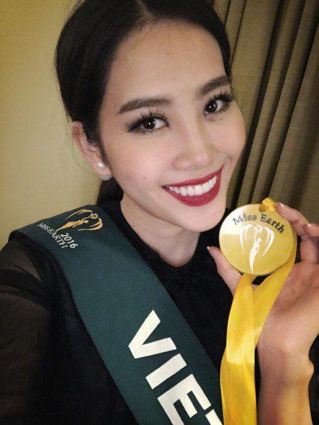 Hoa khoi Nam Em tiep tuc duoc vinh danh tai cuoc thi Miss Earth - Anh 1
