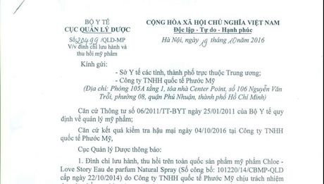 Dinh chi luu hanh san pham my pham cua Cong ty quoc te Phuoc My - Anh 1