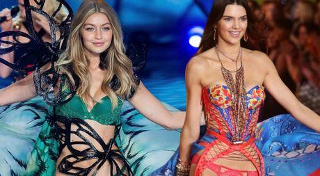 Kendall Jenner va Gigi Hadid tiep tuc tham gia Victoria's Secret Fashion Show 2016 - Anh 1