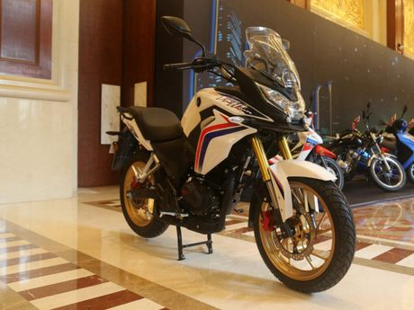 Honda CBF190X 2017 ra mat tai Trung Quoc co the ve Viet Nam - Anh 1