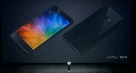 Xiaomi Mi Note 2 ra mat: man cong, Snapdragon 821, RAM 6GB, camera 22,5MP - Anh 1