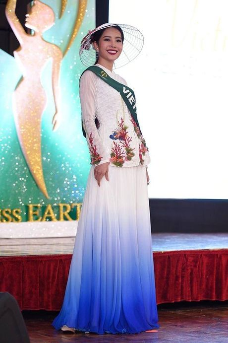 Nam Em vao top thi sinh co thanh tich tot nhat Miss Earth 2016 - Anh 3