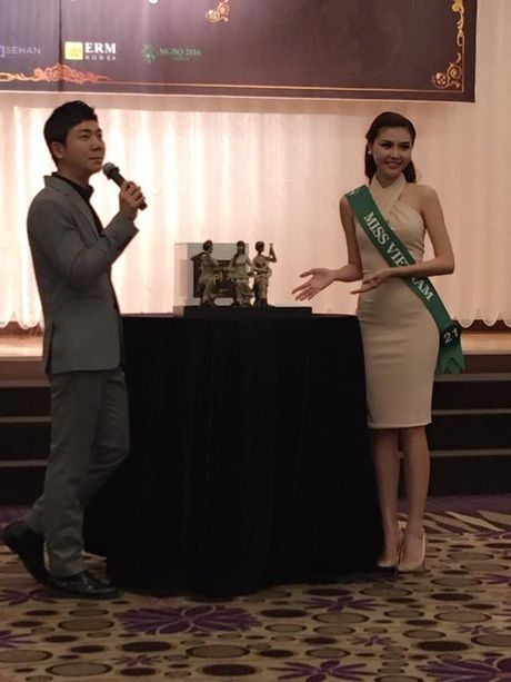 "Ngoc Duyen va hanh trinh den vuong mien ""Nu hoang sac dep toan cau 2016"" - Anh 5"