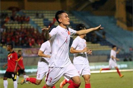 U19 Viet Nam la doi dau tien ghi ban vao luoi Nhat Ban? - Anh 1