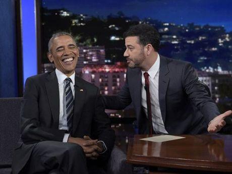 Obama bat cuoi ve Trump suot phien tranh luan tong thong - Anh 1