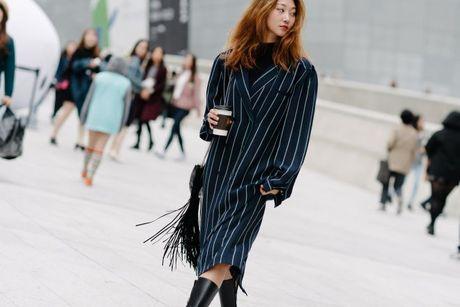 Chiem nguong loat xu huong thoi trang cuc chat tai Seoul Fashion Week - Anh 1