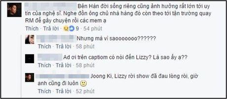 Cu dan mang 'tan nat coi long' khi thanh vien chu chot Kang Gary quyet dinh roi… Running Man - Anh 9