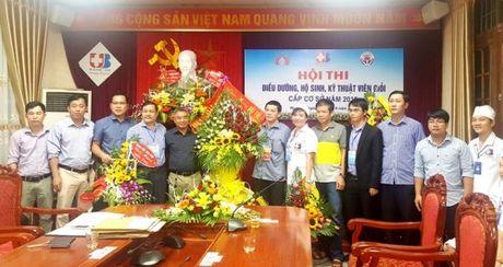 BV Ung buou Nghe An to chuc Hoi thi Dieu duong-Nu ho sinh gioi 2016 - Anh 1