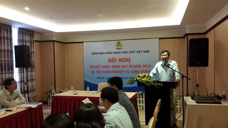 CD Cong nghiep Hoa chat VN: Quy III: Hon 1 ti dong hoat dong an sinh xa hoi - Anh 1