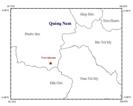 Dong dat 2,9 do Richter o Quang Nam, nghe tieng no phat ra tu long nui - Anh 1