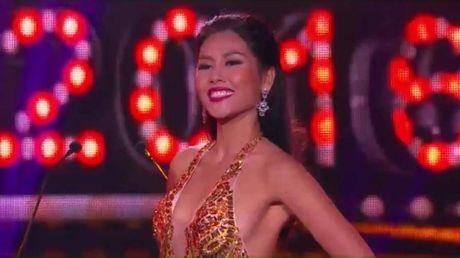 Nguyen Thi Loan ca tinh trong phan thi bikini tai 'Hoa hau Hoa binh The gioi' - Anh 3