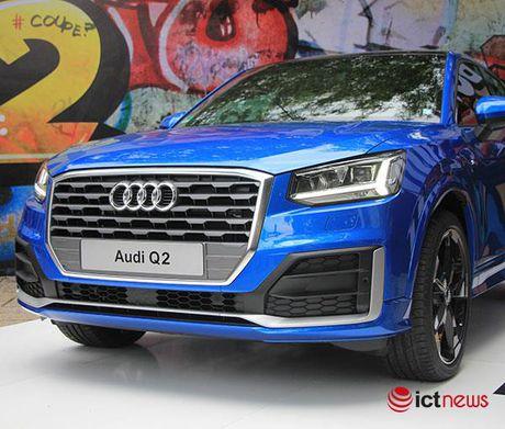 Can canh xe sang Audi Q2 vua ra mat tai Viet Nam - Anh 1