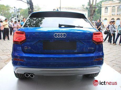 Can canh xe sang Audi Q2 vua ra mat tai Viet Nam - Anh 3