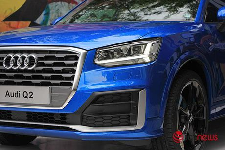Can canh xe sang Audi Q2 vua ra mat tai Viet Nam - Anh 6