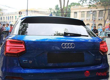 Can canh xe sang Audi Q2 vua ra mat tai Viet Nam - Anh 9