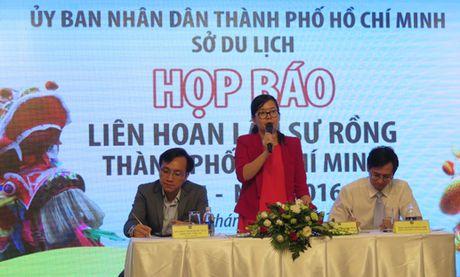 Lien hoan Lan - Su - Rong lan dau tien tai TP Ho Chi Minh - Anh 1