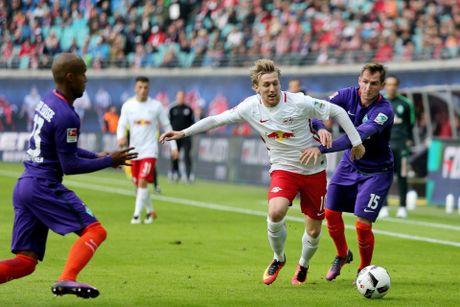 RB Leipzig giam dap truyen thong de thanh Leicester cua Duc - Anh 1