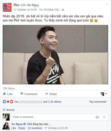 An Nguy, Pho Dac Biet bat dong quan diem trong vlog moi - Anh 1