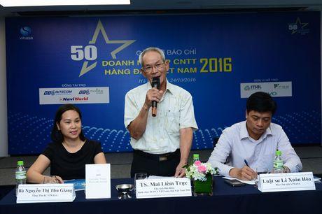 Cong bo danh sach '50 Doanh nghiep CNTT hang dau Viet Nam 2016' - Anh 1