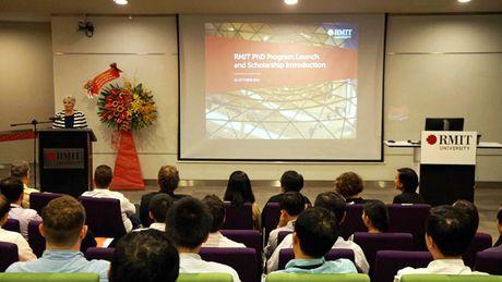 RMIT Viet Nam danh 2 suat hoc bong Tien si toan phan cho phai dep - Anh 1