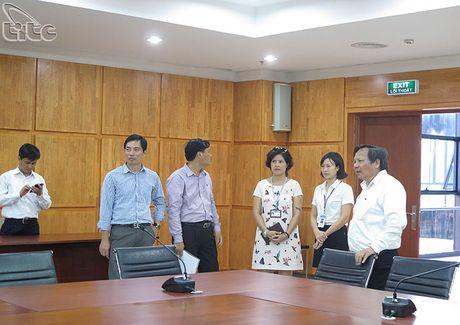 Tong cuc truong Nguyen Van Tuan lam viec voi UBND tinh Quang Ninh - Anh 7