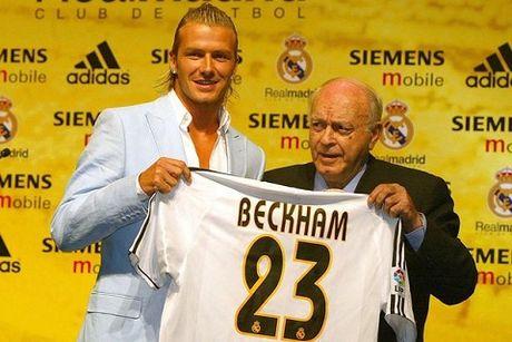 David Beckham tu choi theo buoc Roberto Carlos o Real Madrid - Anh 1