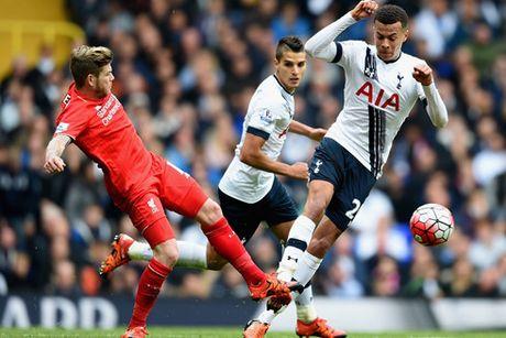 Lich thi dau bong da hom nay 25/10: Liverpool dung do Tottenham - Anh 1