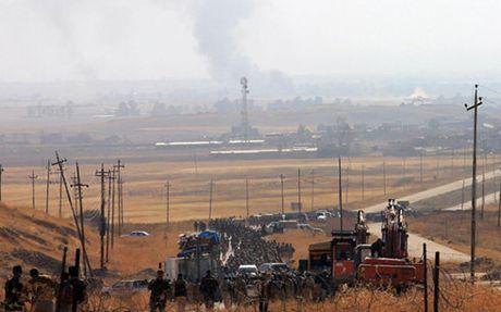 Binh si nguoi Kurd ke chuyen giao chien ac liet voi IS o Mosul - Anh 1