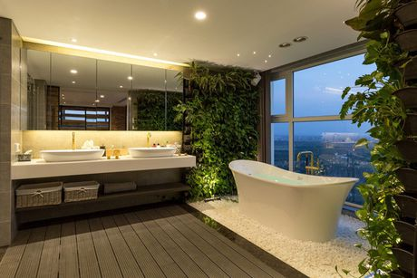 Can ho penthouse 250m² cua chang trai doc than dep ngat ngay o Ha Noi - Anh 12