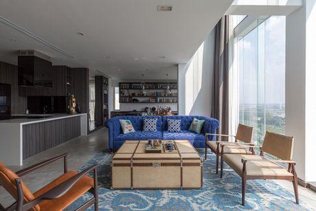 Can ho penthouse 250m² cua chang trai doc than dep ngat ngay o Ha Noi - Anh 1