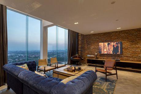 Can ho penthouse 250m² cua chang trai doc than dep ngat ngay o Ha Noi - Anh 2