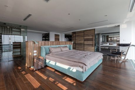 Can ho penthouse 250m² cua chang trai doc than dep ngat ngay o Ha Noi - Anh 8