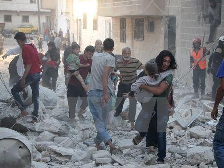 Nga san sang tan cong phien quan IS di chuyen tu Iraq vao Syria - Anh 1