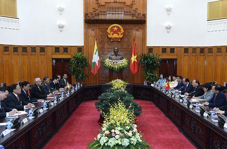 Thu tuong Nguyen Xuan Phuc hoi kien Tong thong Myanmar - Anh 2