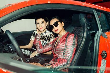 Hoa hau Thu Thao quyet 'do sac' Thanh Hang tai su kien - Anh 5