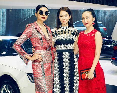 Hoa hau Thu Thao quyet 'do sac' Thanh Hang tai su kien - Anh 8