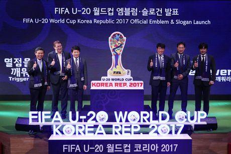 BTC FIFA U20 World Cup 2017 chuc mung DT U19 Viet Nam - Anh 1