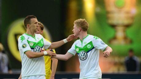 Wolfsburg hoi tiec vi ban De Bruyne cho Man City - Anh 1