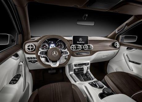 Ban tai dau tien cua Mercedes 'chot ten' X-Class - Anh 5