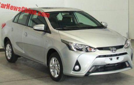 Toyota Yaris L Sedan - Vios phien ban 'Tau' gia 247 trieu - Anh 1