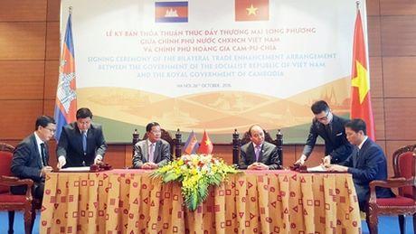 29 mat hang Viet Nam huong thue 0% khi nhap khau vao Campuchia - Anh 1