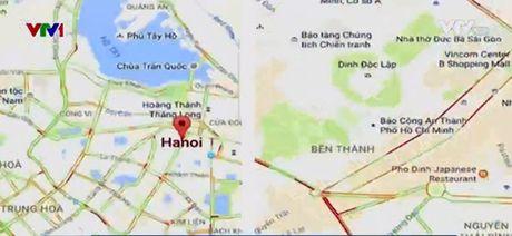 Nguoi dung Viet co the xem tinh trang tac duong qua Google Maps - Anh 1