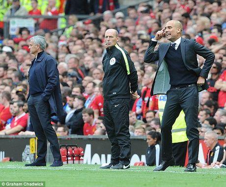 Guardiola se dung doi hinh 2 de lam be mat Mourinho - Anh 3