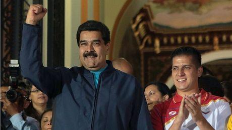 Quan doi Venezuela trung thanh vo dieu kien voi Tong thong Maduro - Anh 1