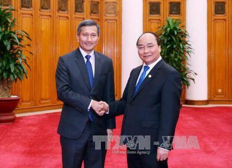 Thu tuong Nguyen Xuan Phuc tiep Bo truong Ngoai giao Singapore - Anh 1