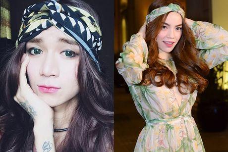 Ho Ngoc Ha thanh cam hung cosplay vo tan cho BB Tran - Anh 5