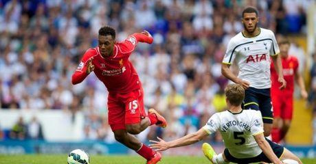 Nho Sturridge, Liverpool thang sat nut Tottenham - Anh 1