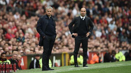 Truoc derby Manchester: Guardiola run so, Mourinho 'sau' du duong - Anh 1