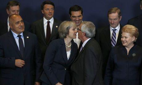 Lo ghi am cho thay Thu tuong Theresa May khong muon Anh roi EU - Anh 1